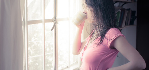 djevojka, mlada djevojka, kava