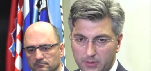 Andrej Plenković, Milijan Brkić
