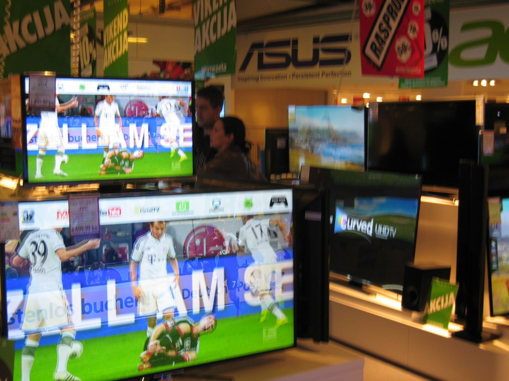 televizor, tehnika, prodavaonica tehničke robe