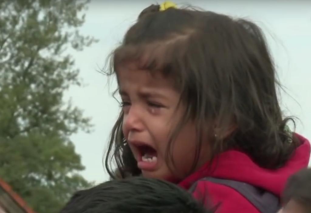 Izbjeglice, djevojčica