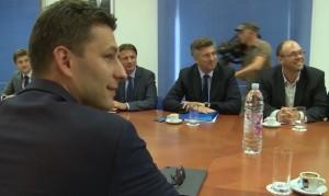 Petrov, Plenković, pregovori