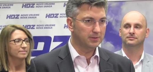 Plenković, Maletić, Tolušić