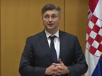 andrej plenković, hdz
