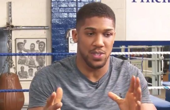 anthony joshua, boksač