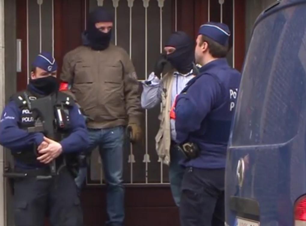 belgija, policija