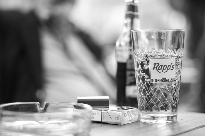 cigarete, alkohol