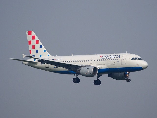 zrakoplov, avion, croatia