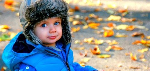 dječak, dječak s kapom, dječak jesen