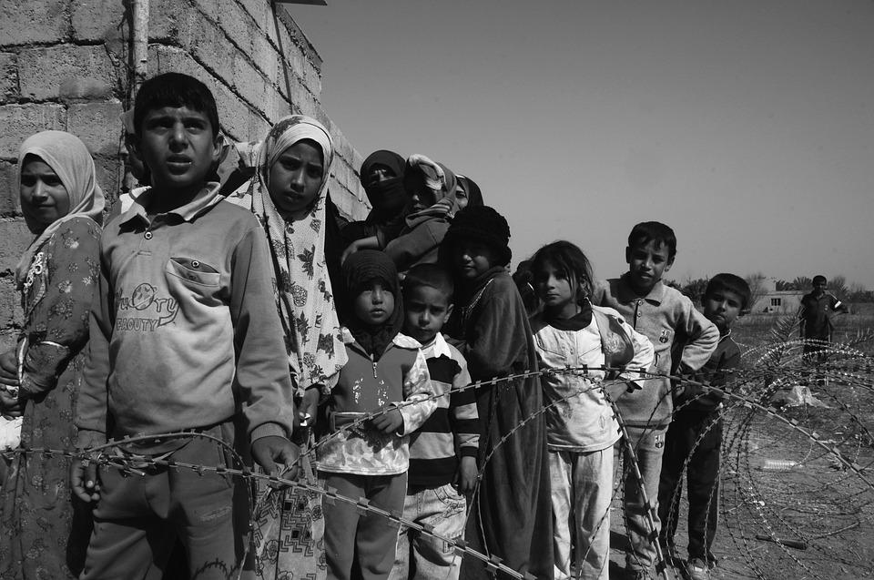 djeca, migranti, izbjeglice, glad