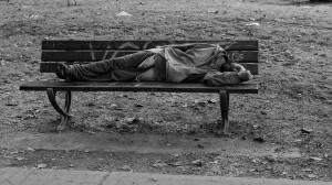 prosjak, pijanica, beskućnik