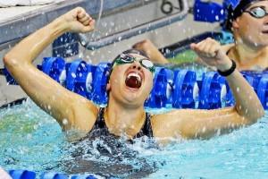 plivanje, pobjednica, plivačica