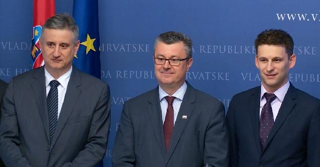 karamarko, orešković, petrov
