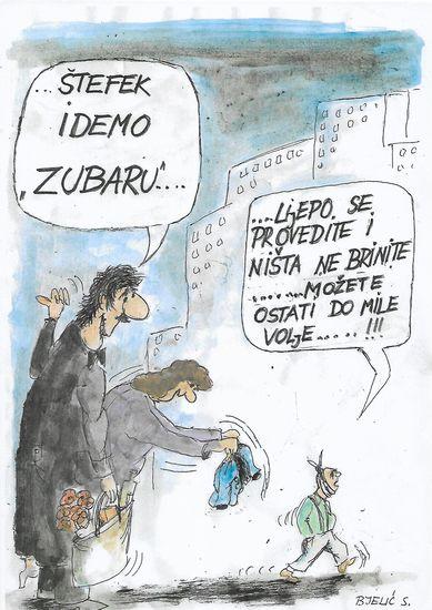 karikatura svet