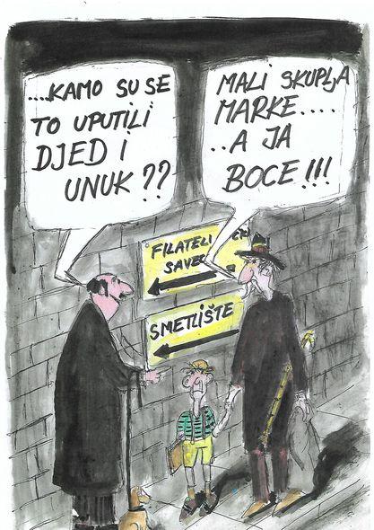 karikatura, svet