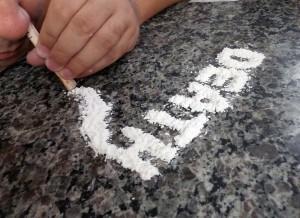 kokain, droga