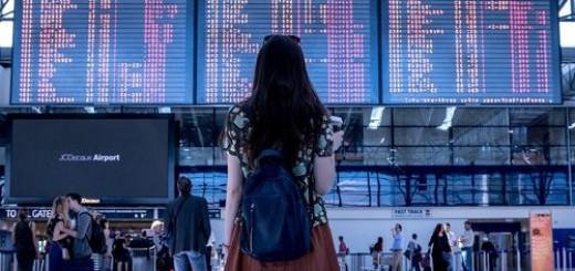 odlazak, zračna luka