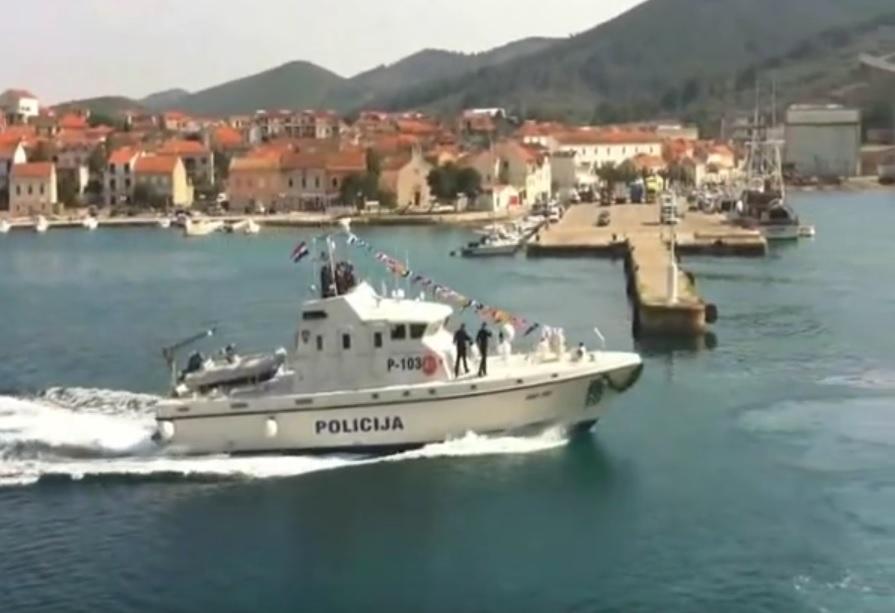 patrolni brod, hrvatska, policija