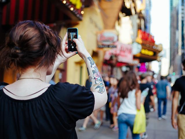mobitel, tetovaža