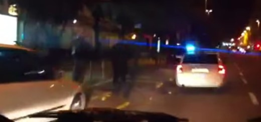 policija, akcija, noć