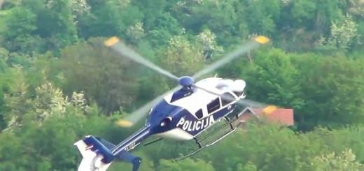 policija, helikopter