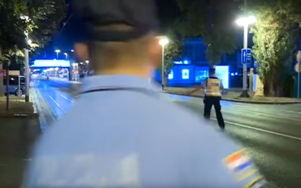 policija hr, noć