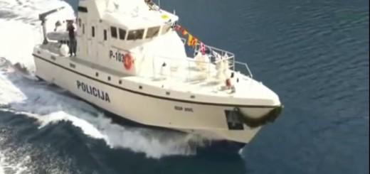 policija, hrvatska, patrolni brod