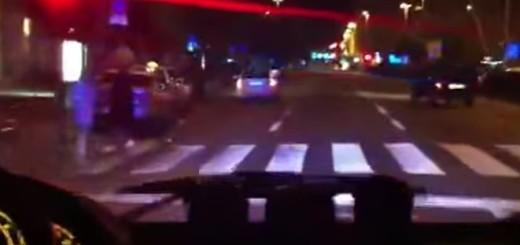 policija, noć