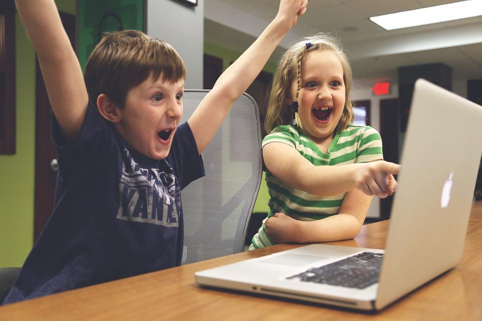 računalo, komp, djeca