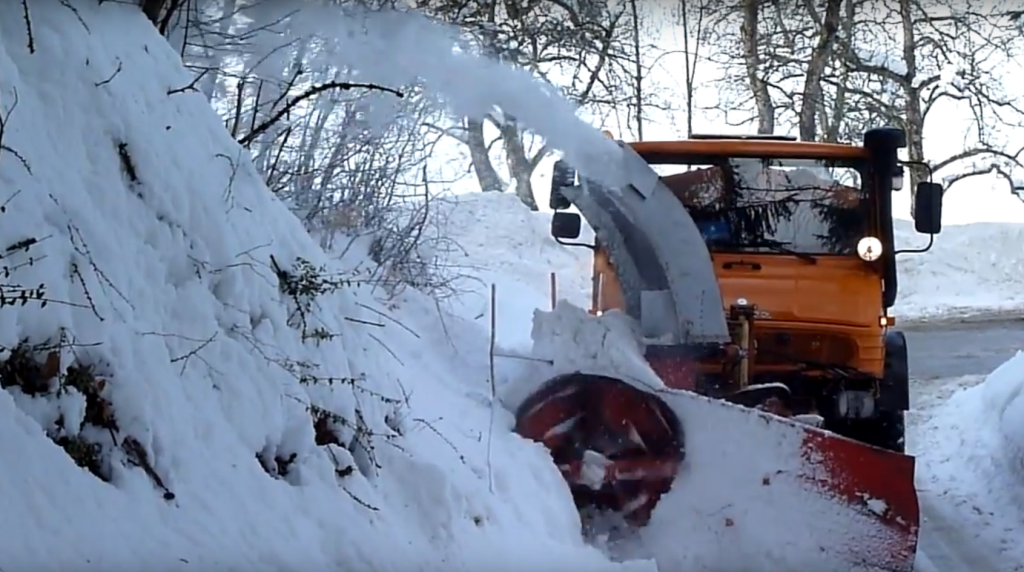 ralica, snijeg, zimska služba
