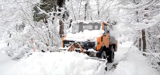 ralica, snijeg, zimska služba, čišćenje snijega