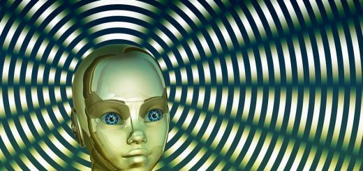 robot, glava