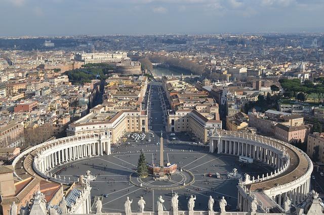 vatikan, rim, san pietro, italija, bazilika