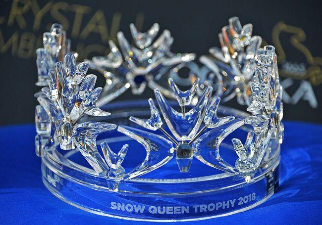snježna kraljica, kruna
