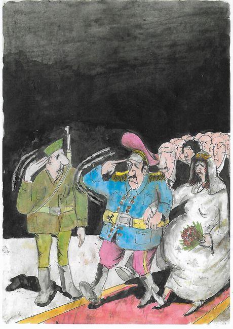 sveto bjelić, karikatur