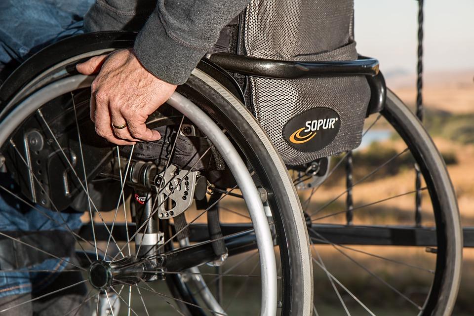 invalid, kolica, invalidska kolica