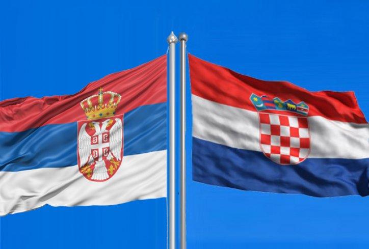 zastave, Hrvatska, Srbija