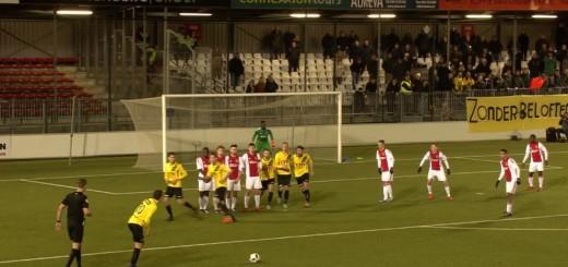 Nogomet,slobodan udarac,Ajax,NAC Breda