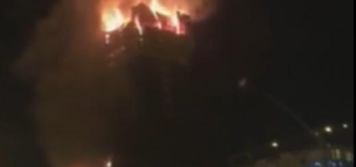 VIDEO: DRAMA U NEBODERU - Vatra je gutala zgradu sa 88 katova
