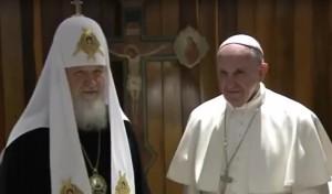 Papa Franjo, patrijarh Kiril