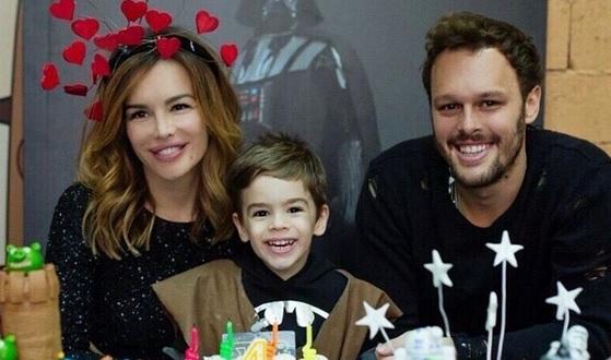 SREĆA ZA ROĐENDAN: Aleksandar, Severinin sinčić, proslavio četiri godine uz tri torte 1