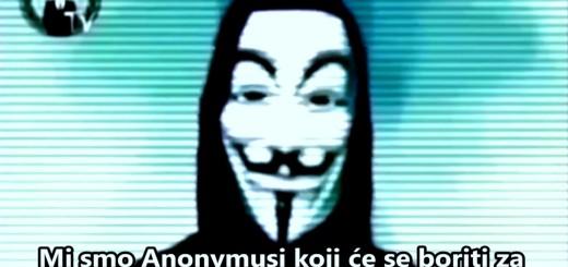 """VIDEO: OPERACIJA """"PROCES 1815"""" - Kako su Anonymousi zaprijetili borbom za prava Hrvata u BiH 2"""