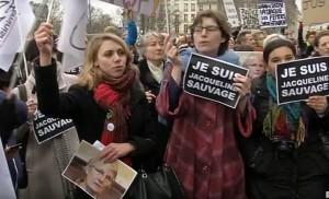 jacqueline sauvage, protest
