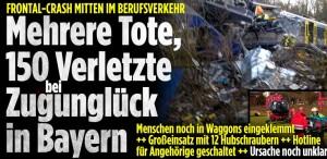 nesreća, željeznica, njemačka