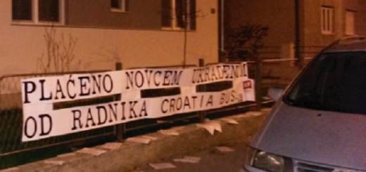PORUKA NA KUĆI TAJKUNA SULIĆA: Plaćeno novcem ukradenim od radnika Croatia busa