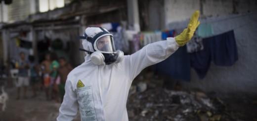 zika virus, dezinfekcija