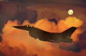 zrakoplov, vojska, rat, ilustracija
