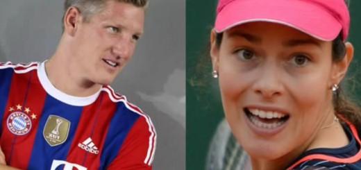 """NAJSKUPLJA SVADBA U REGIJI: Tenisačica Ana i njen nogometaš Schweinsteiger reći će """"da"""" u lipnju"""