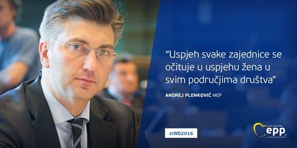 UZ DAN ŽENA: Ovako je Andrej Plenković čestitao svim ženama