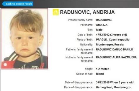 OTMICA ILI?: Interpolova potraga za dječakom Andrijom koji je nestao nakon svađe roditelja 2