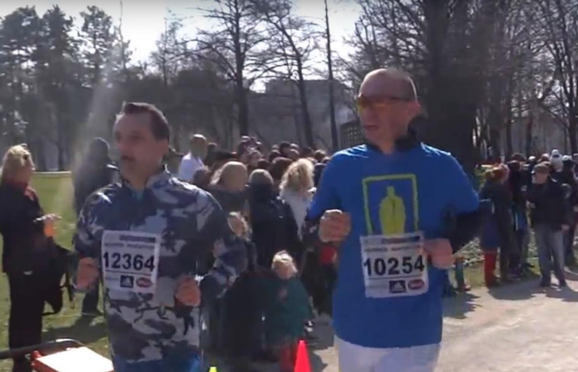GRAĐANI TRČALI: Holjevka je utrka s pogledom - gradonačelnik Bandić nije trčao